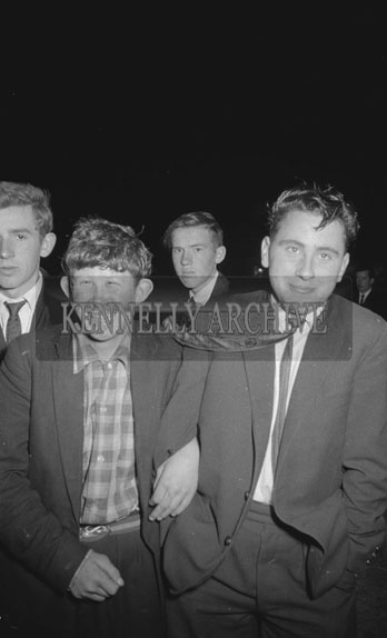 7th October 1962; People enjoying the night at a dance which took place in Lixnaw.
