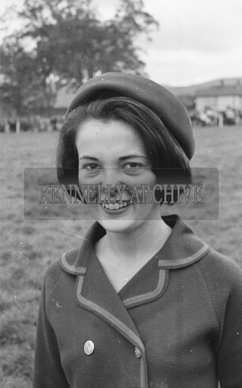 3rd September 1962; One of the Rose finalists poses for the camera in Tralee.