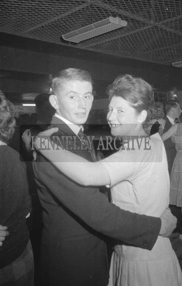 16th September 1962; People enjoying the night at a dance which was held in Ballymacelligott.