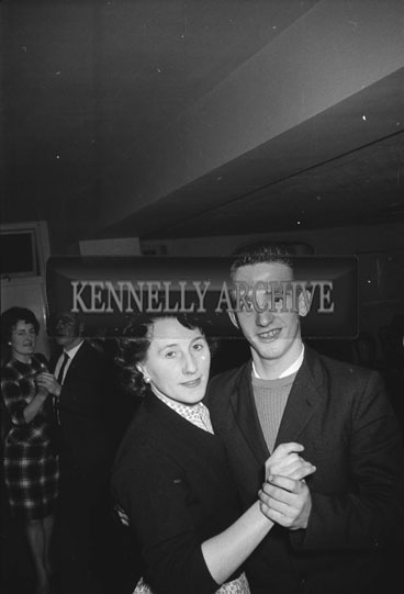 2nd December 1962; People enjoying the night at the Kerins O'Rahilly's Social which took place at the Meadowlands Hotel.