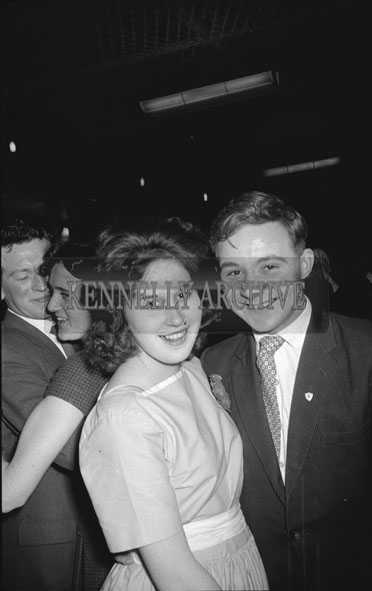 3rd December 1962; People enjoying the night at a dance which took place in Ballymac.