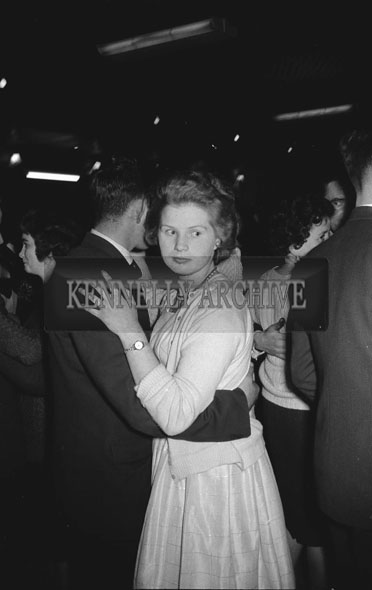 3rd December 1962; People enjoying the night at a dance which took place in Ballymacelligott.