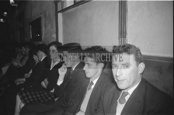 9th December 1962; People enjoying the night at a dance which took place in Ballymacelligott.