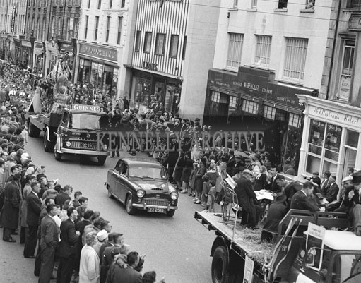 19th June 1962; A photo taken during the Opening Parade of the Kingdom County Fair in Tralee.