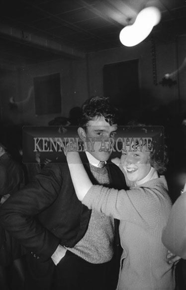 16th December 1962; People enjoying the night at a dance which took place in Firies.