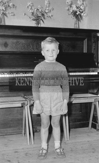September 1962; A photo of a child taken at an unknown location.