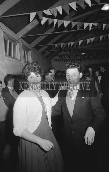 2nd November 1962; People enjoying the night at a dance which took place in Scartaglin.