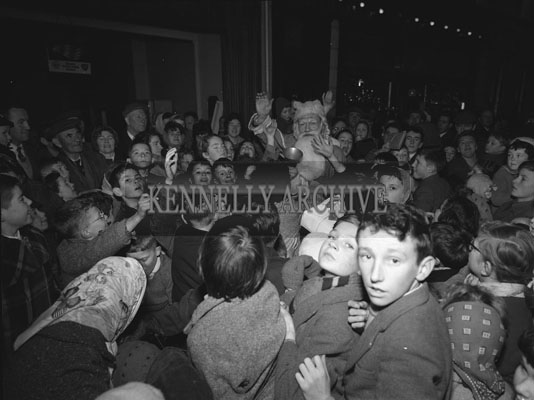 8th December 1962; A photo taken during a visit by Santa to Tralee.