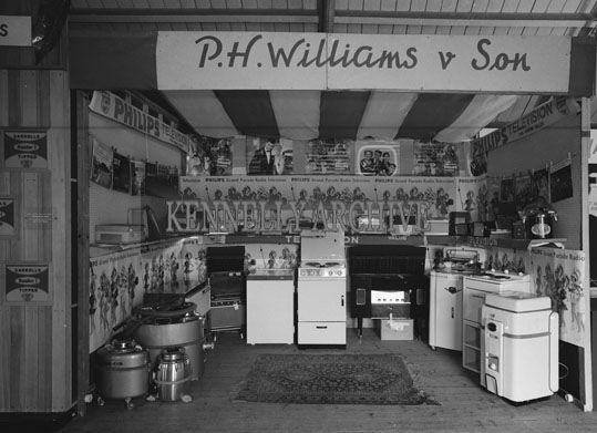 19th June 1962; A photo taken of a stand at the Trade Fair which took place at the Kingdom County Fair in Tralee.