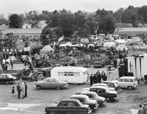 21st June 1962; The trade show during the Kingdom County Fair at Ballymullen Barracks.