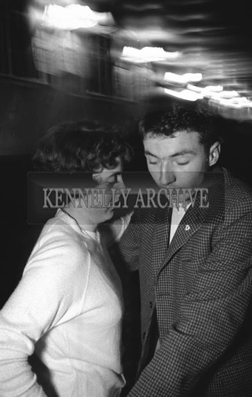 16th December 1962; People enjoying the night at the Ballymac Social.