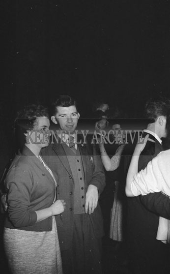 21st December 1962; People enjoying the night a dance which took place at the CYMS in Tralee. Music at the dance was provided by the Royal Showband.