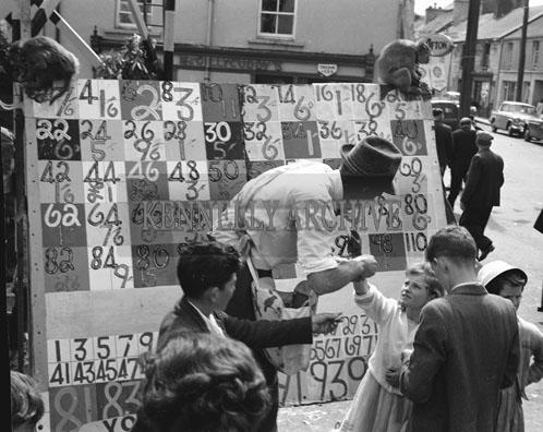 10th-12th August 1962; A photo taken during Puck Fair in Killorglin.