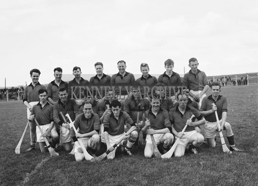 12th August 1962; A Down team photo taken at the All-Ireland Junior Semi-Final between Kerry and Down which was held at Austin Stack Park. The Kingdom defeated Down 4-8 to 4-6.