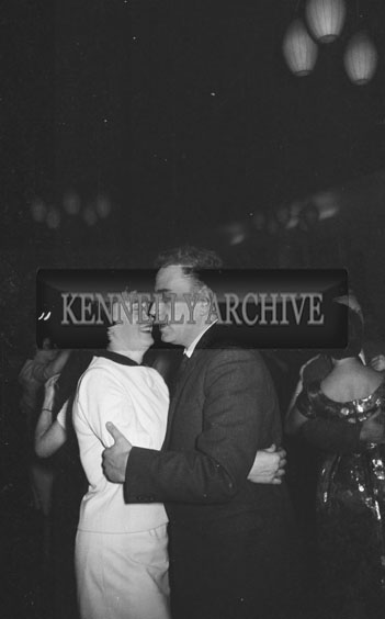 December 1962; People enjoying the night a dance which took place at the Hotel Manhattan.