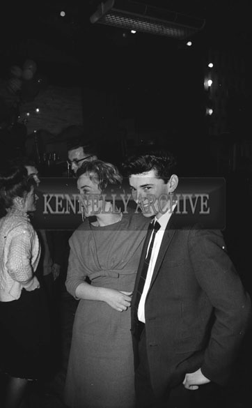 28th December 1962; People enjoying the night at a dance which took place in Ballymacelligott.