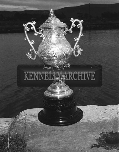 August 1962; A photo of an angling trophy.