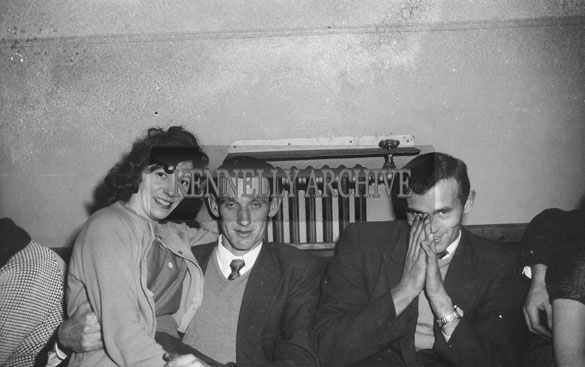 26th December 1962; People enjoying the night at a dance which took place at the Astor Ballroom in Castleisland.