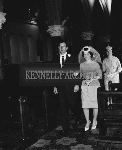26th December 1962; A photo taken at wedding of John Roche which took place in Castleisland.