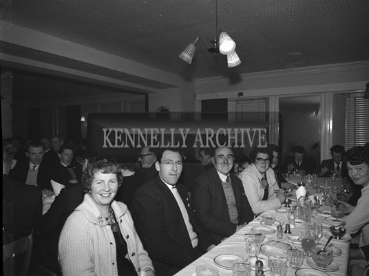 December 1962; A photo taken at the Listowel Macra Na Feirme Social which took place at the Meadowlands Hotel.