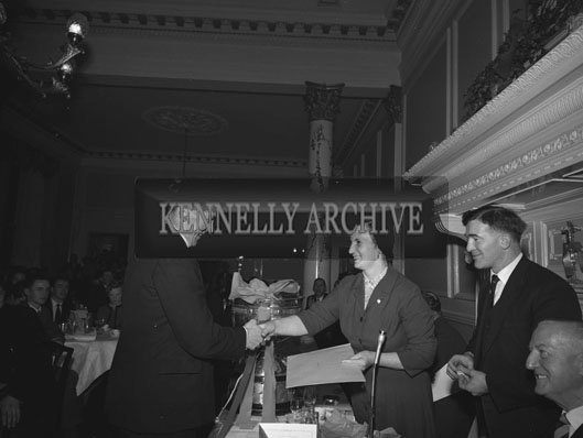 30th December 1962; A photo taken at the Annual GAA Dinner which took place at the Great Southern Hotel In Killarney.