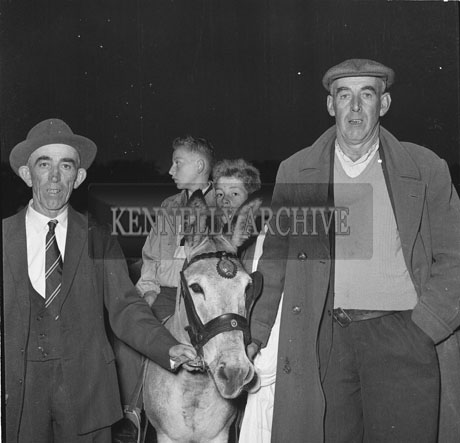6th September; 'Listowel Factory' which was owned by Paddy Behan from Listowel and ridden by 13 year old Gerard McCarthy from Finuge who won the Donkey Derby Final which took place at the Town Park in Tralee. The Rose of Tralee Ciara O'Sullivan presented the Lyons Cup trophy to the winner.
