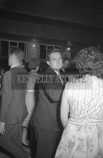 16th September 1962; People enjoying the night at a dance which took place in Ballymacelligott.