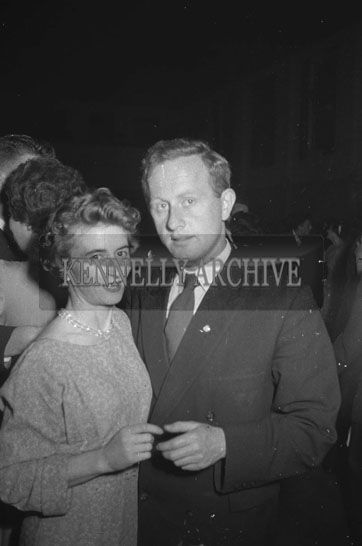 16th September 1962; People enjoying the night at a dance which took place at the CYMS Hall in Tralee.