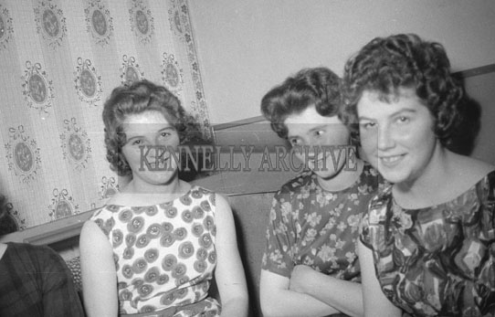 7th October 1962; People enjoying the night the Miss Kerry Dance which took place in Ballymacelligott.