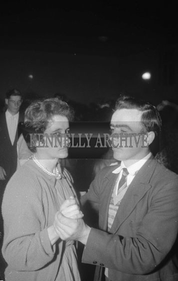 10th October 1962; People enjoying the night at a dance which took place in Causeway.
