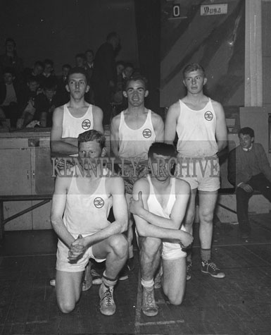 13th October 1962; A photo of the Leinster team taken at the Inter-Provincial Championship Semi-Final between Munster and Leinster which was held at the CYMS hall in Tralee. Munster were defeated by Leinster 39 points to 36 points.