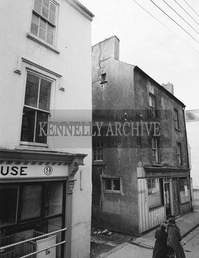 October 1962; A photo taken on Dominic Street in Tralee.