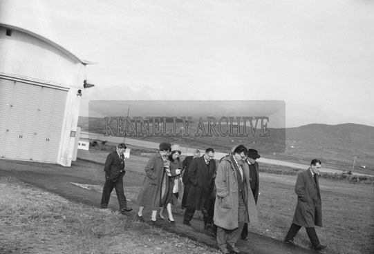 5th November 1962; The opening of the Valentia Seismological Station by the Minister for Transport & Power Mr Erskine Childers. A Radiosonde was launched at the observatory.