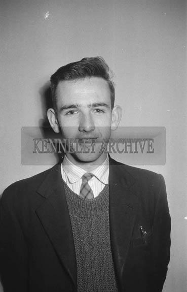 1964; A Studio Photo Of A Man.