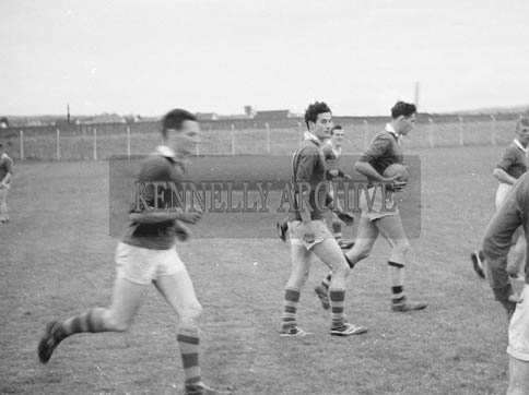 July 1964; Members of The Kerry Football Team At A Training Session.