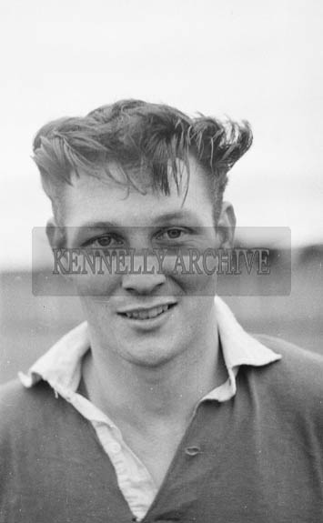 July 1964; Kerry Footballer Timmy O'Sullivan at a training session is Austin Stack Park, Tralee.