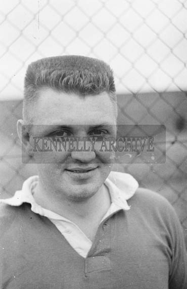 July 1964; A Member of The 1964 Kerry Football Team.