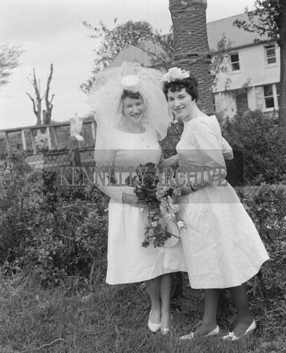 May 1964; A wedding reception in the Meadowlands Hotel, Tralee.