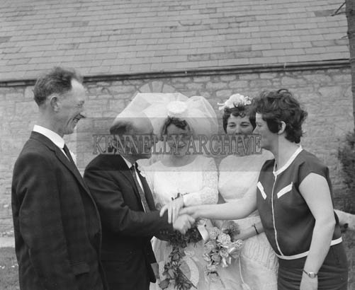 May 1964; A wedding in the Church of the Immaculate Conception (St Catherine's), Tralee.