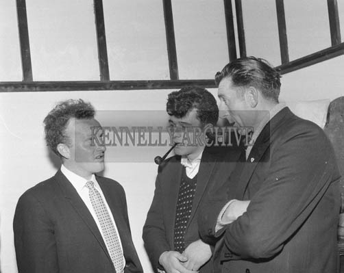 16th May 1964; Members of the Fisherman's Co-operative Society at the first Annual General Meeting.
