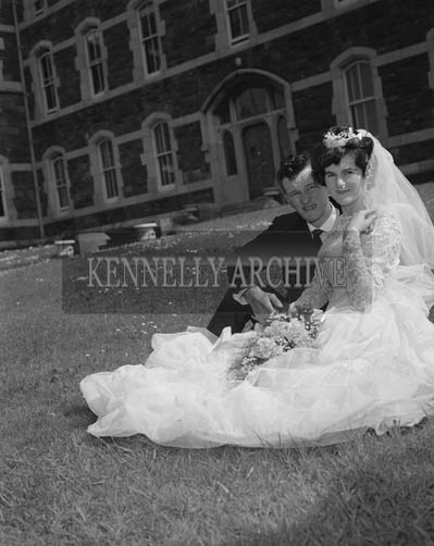 May 1964; A photo taken at a wedding in Dingle.