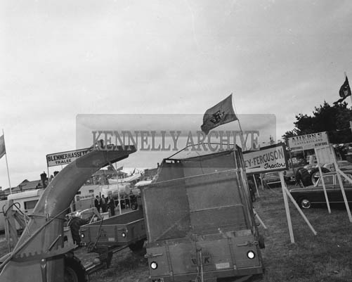 26th/28th May 1964; A photo taken at the Trade Fair at the Kingdom County Fair in Tralee.