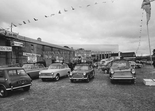 26th/28th May 1964; A photo taken at the Horan's Garage Trade Show at the Kingdom County Fair in Tralee.