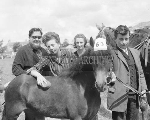 26th/28th May 1964; Ernie and Miriam Evans at the Showjumping Event in the Kingdom County Fair, Ballymullen, Tralee.