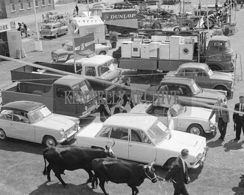 26th/28th May 1964; A photo taken at the Kingdom County Fair in Tralee.