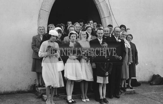 June 1964; A Photo taken at a Wedding in Castlegregory.