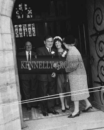 June 1964; A photo taken at a wedding in Ballybunion.