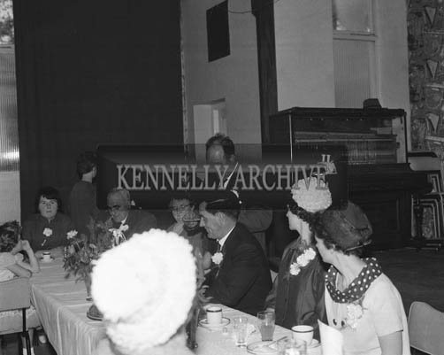 June 1964; A wedding reception in the Hotel Manhattan, Tralee.