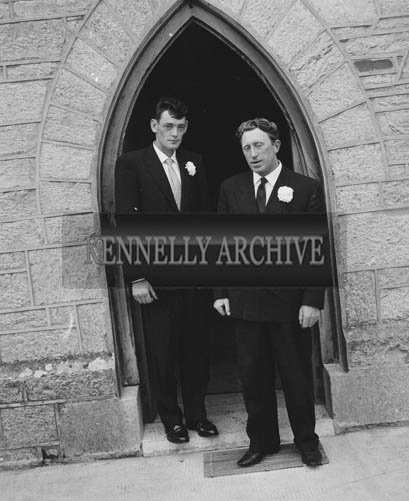 June 1964; A wedding in St Catherine's Church in Tralee.