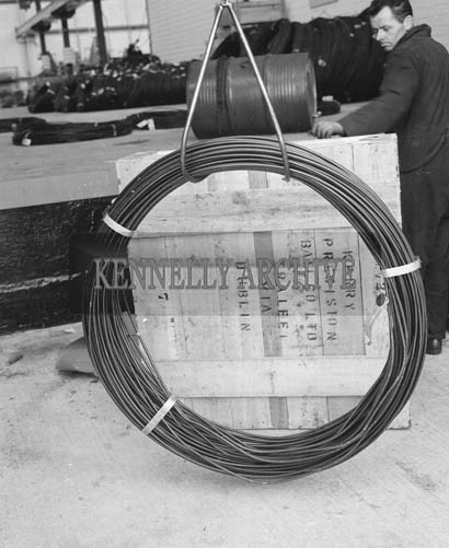 June 1964; A Photo taken of Cables in Tralee.